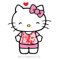 Hello Kitty loves Charlize!