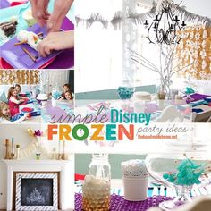 frozen party ideas - the handmade home