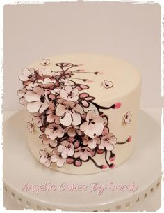 Cherry Blossom Cake by Angelic Cakes By Sarah
