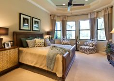 This spacious Master Suite is from John Cannon Home's Caaren model.