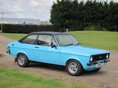 Ford Escort - bought new P reg to take to Germany