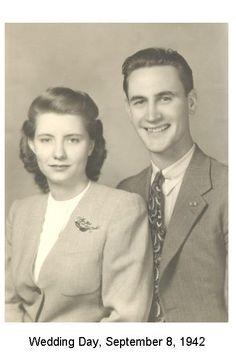 Wedding Day, September 8, 1942