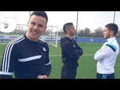 Eden Hazard & The F2 - Skills, Tricks & Perfect Penalties | #5 Players Lounge - YouTube