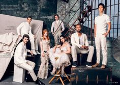 #Shadowhunters cast in Bello magazine