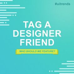 Hunting Creativity! Tag a talented friend who should be featured on our account! - - #tagafriend #tellafriend #uitrends #uidaily #uifeed #students #webawards #awwwards #digitatrends #trendshunter #hunt #callforartists #typography #inspiration #creativity #creative #ideas #inspira #inspire #designersofthefuture #www #html #css #app #mobileapp #tech #geek #startups #smartcity #blog