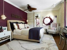 A Candace Olsen design featuring one of our favorite palettes -- purple!!!