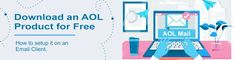 For AOL download you have to launch the AOL Products & Services page via discover.aol.com & login as an administrator on your system.