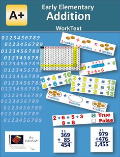 Free Early Elementary - Addition WorkText
