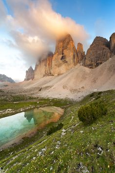 The Dolomites, South Tyrol.If you're more of an adventurous type, head to the Dolomites in the northeastern corner of Italy for some of the world's best skiing and mountain climbing.