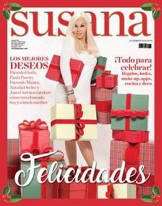 ¡Gracias La revista de Susana por elegirnos! Nuestras cajas lucen geniales de la mano de la diva nº 1 de nuestro país! #Cajas #Navidad #FelicesFiestas