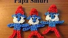 Papa Smurf Rainbow Bands