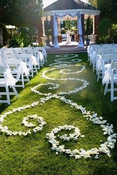 petal aisle wedding decor // brides of adelaide magazine