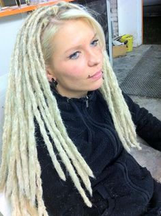 dreadlocks straight hair