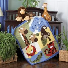 Jungle Buddies Blanket