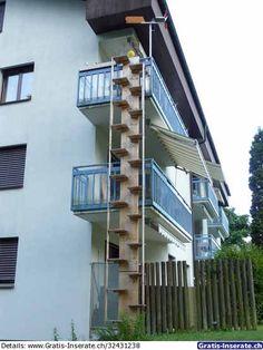 Foto zu Inserat Katzenleiter für hohe Gebäude