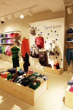 FINKID children clothing concept store by The Store Designers, Erfurt store design