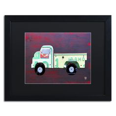 Pickup Truck by Design Turnpike Framed Graphic Art