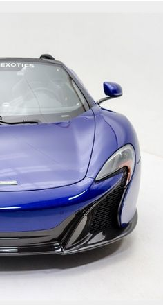 Drool worthy McLaren MP4-12C 650S Spider loaded with Carbon Fiber. #spon