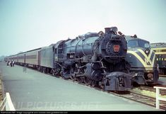 RailPictures.Net Photo: PRR 3752 Pennsylvania Railroad Steam 4-6-2 at Oceanport, New Jersey by John Dziobko www.godfatherrails.com