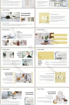 Nordic style fresh and natural minimalist magazine wind PPT template Brand Presentation, Business Presentation, Layout Design, Web Design, Company Profile Design, Magazine Pictures, Nordic Style, Keynote Template, Architectural Presentation