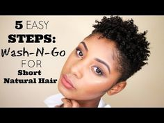Think same texture as me - Defined Curls TWA Pixie Hairstyle on Natural Hair - YouTube like the technique