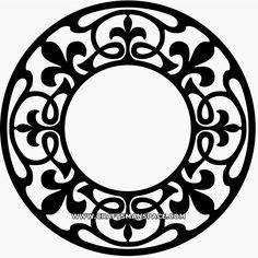Ажурные векторные рисунки орнамента и узоров. Обсуждение на LiveInternet - Российский Сервис Онлайн-Дневников