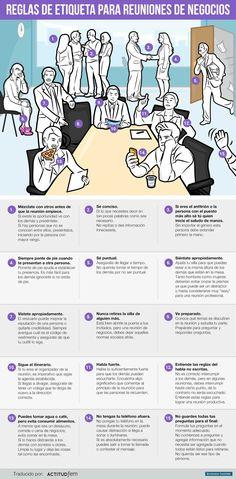 15 reglas de etiqueta para las reuniones de negocios   Dinero en Imagen.com