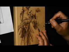 Pyrography project 47 - YouTube