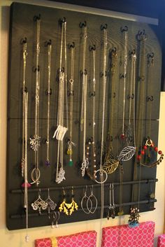 On My Side of the Room: Wall Hanging Jewelry Organizers Sale