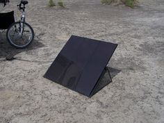 This portable solar panel charger really came in handy when we went boondocking in our RV. We bought it at Costco.