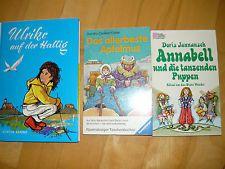 3 Kinderbücher 70er Jahre: Ulrike a. d. Hallig / Annabel u. d. tanzenden Puppen