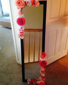 Mirror Frame DIY Projects for Home Decorations - Diy Tips - DIY Ideas