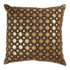 Metallics pillow