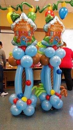 Balloon candyland sculpture nycballoonsquad