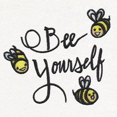 Stitch this thoughtful expression onto apparel, accessories, and more.