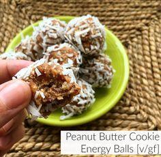 Peanut Butter Cookie Energy Balls