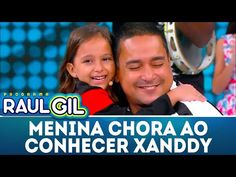Menininha vai às lagrimas ao conhecer o cantor Xanddy   Programa Raul Gil (31/03/18) - YouTube Raul Gil, Youtube, Crying Girl, Hopscotch, Getting To Know, Singers, Toddler Girls, Musica, Youtubers