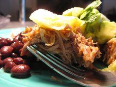 Caribbean Roast Pork with Pineapple Lime Salsa