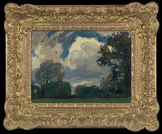 Jan Stanisławski   OBŁOK, 1903   olej, tektura   23.8 x 32.5 cm