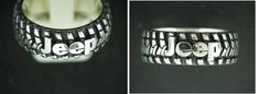 Unconventional wedding band for the Jeep lovers? Fast Edde's Jewelry Tyler would love this Jeep Jk, Jeep Truck, Jeep Wrangler, Jeep Wedding, Jeep Clothing, Girls Jewelry Box, Cool Jeeps, Jeep Accessories, Jeep Cars