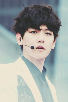 Baekhyun- I think he looks really attractive with dark hair, though he still does in other colors, too.X3
