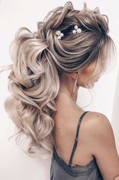 ponytail updos for weddings, ponytail hairstyles, ponytail hairstyles 2020, wedding ponytail, prom hairstyles, prom ponytail #weddinghairstyles wedding hairstyles