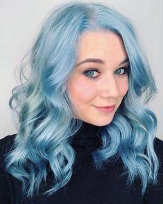 Mint Pastel Hair, Mint Hair Color, Green Hair Colors, Lilac Hair, Cotton Candy Hair, Hair Starting, Hair Shades, Hair Photo, Rainbow Hair