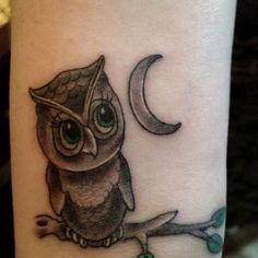 Cute Owl Tattoos Tattoo Ink