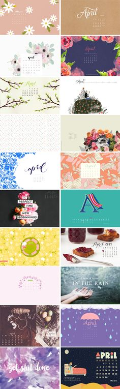 April 2015 – Wallpaper Round-Up