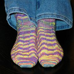 This pair of socks was fun to make-easy to follow pattern.