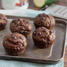 Chocolate Chai Zucchini Muffins. Find this and other wonderfully yummy recipes from food artisans around the world at our fantastic website yumgoggle.com