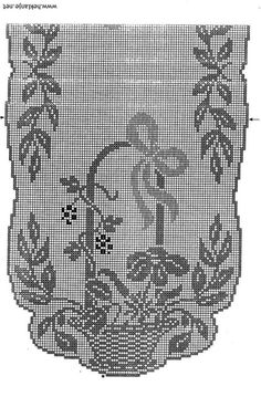 1 million+ Stunning Free Images to Use Anywhere Filet Crochet, Crochet Chart, Thread Crochet, Crochet Motif, Crochet Designs, Crochet Doilies, Crochet Stitches, Funny Cross Stitch Patterns, Cross Stitch Borders