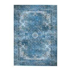 Vloerkleed carpet Liv By Boo turqoise