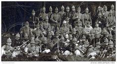 Hannoversches Jäger-Bataillon Nr. 10 - Tschako - 2 Photos - Reserve-Jäger-Bataillon Nr. 10
